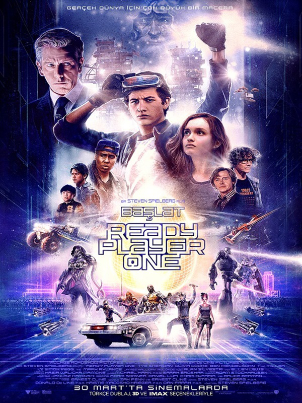 Başlat: Ready Player One 3D